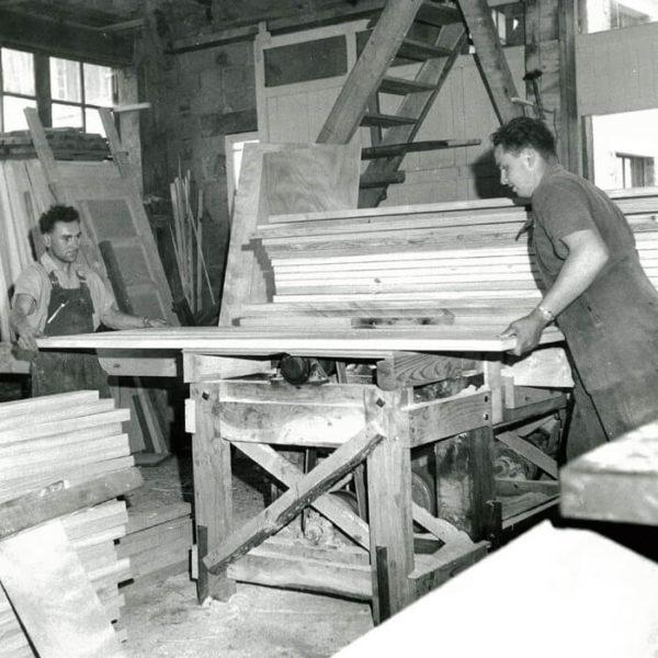Atelier ancien de Chauvat Portes